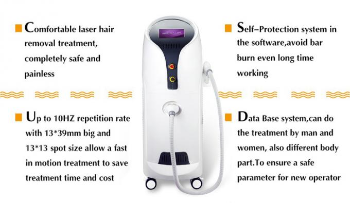 water+air+semiconductor cooling system hair removal diode laser machine 3