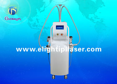 Vertical Cavitation Slimming Machine For Cellulite Reduction / Eye Wrinkle Removal