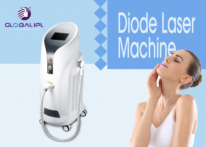 SHR 808 nm Multi-functional Diode Laser Hair Removal Machine , Arm / legs Hair Removal