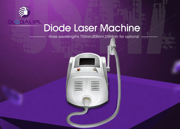 Permanent Beauty Hair Removal Diode laser hair Removal Machine With 808nm