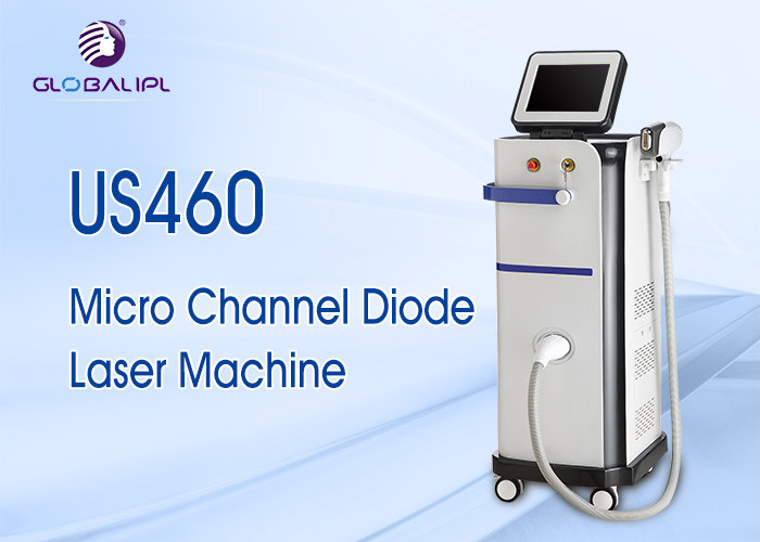 High End Salon Use Super Cooling Microchannel Diode Laser 808 Hair Removal Machine