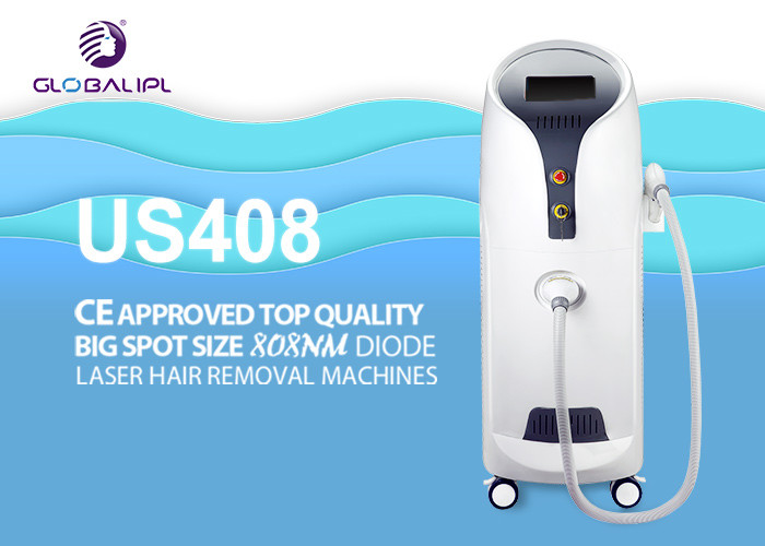Sliding Screen Commercial Laser Hair Removal Machine 755nm 808nm 1064nm Triple Wavelength