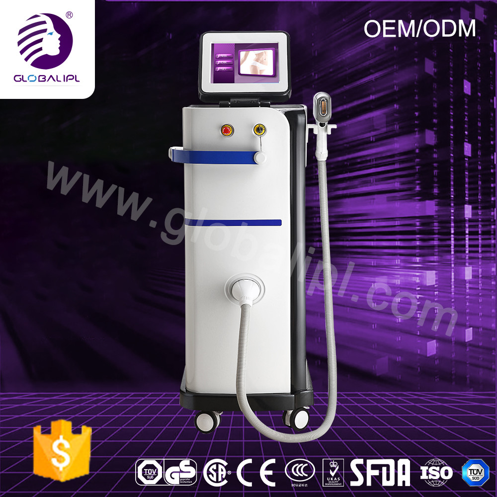 1064nm 755nm 808nm Diode Laser Hair Removal Machine Permanent For Body / Face